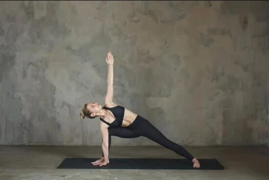 Yoga Asanas to Reduce Belly Fat - Triangle pose